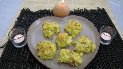 Recette Assiette d'hérissons de pommes de terre