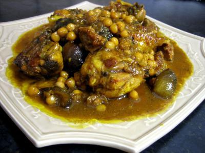 Poulet figues et miel à la marocaine