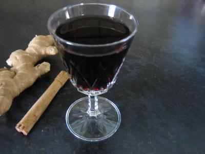 Image : Verre de vin aux épices