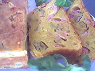 Image : recette Cake aux olives