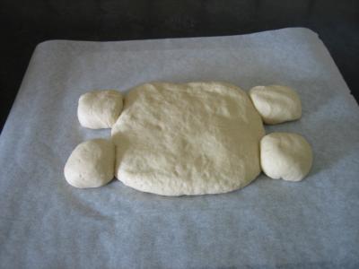 Pain aux oignons en forme de tortue - 11.1