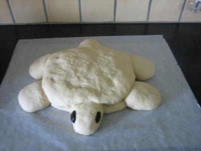 Pain aux oignons en forme de tortue - 13.1