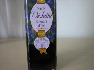 Sirop de violettes