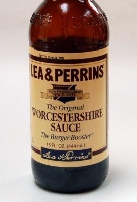 Photo : La sauce worcester contient du tamarin