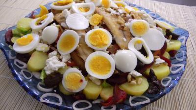 Recette Salade de pommes de terre et merlan