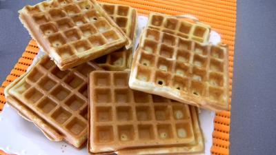 Cuisine flamande et belge : Assiette de gaufres