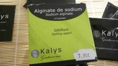Alginate en sachets de 2 g