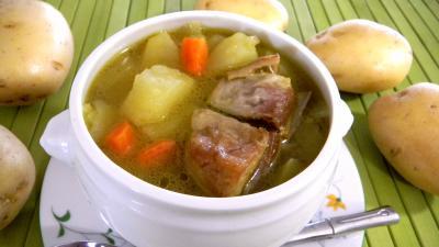 Cuisine diététique : Soupière de parmentière à l'agneau