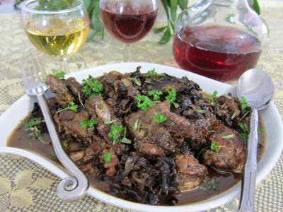 marsala : Salmis de faisan et de perdrix