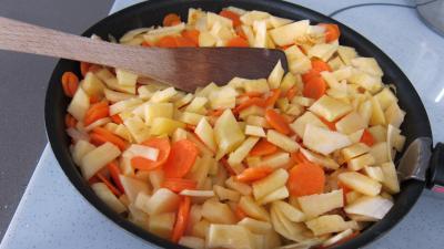 Recette Rutabagas aux carottes