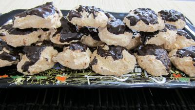 Recette Plateau de rochers à la noix de coco et chocolat
