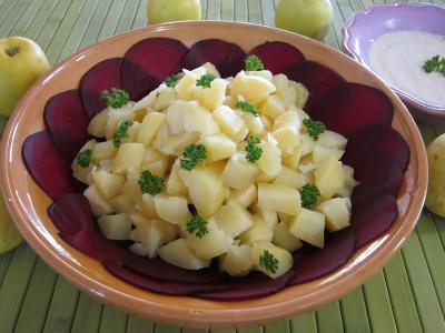Image : Saladier de betterave en salade