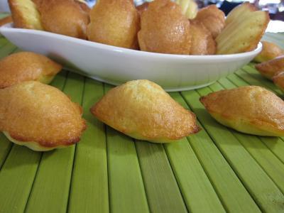 Recette Plat de madeleines de Commercy
