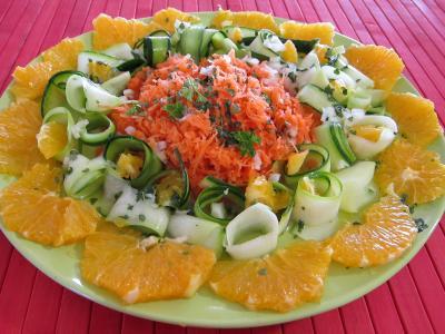 Cuisine marocaine : Salade d'orange à l'eau de fleur d'oranger