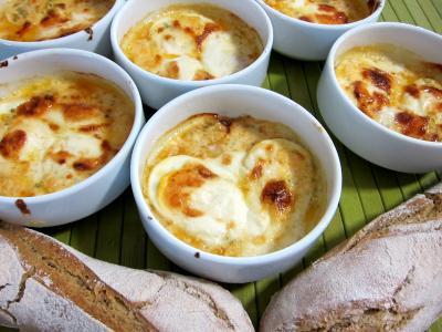 Recette Des cassolettes de fromage Selles sur cher