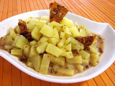 Cuisine antillaise : Plat de patates douces au citron vert