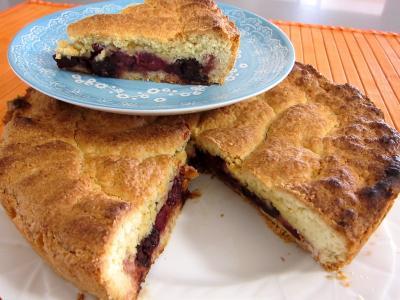 Photo : Un gâteau basque