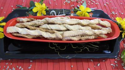 gressins aux graines de tournesol
