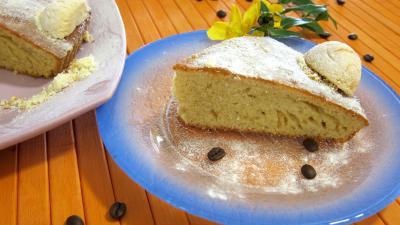 yaourt : Biscuit italien avec amaretti et café