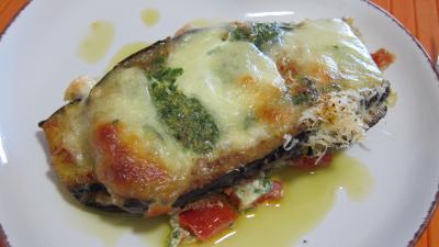 Aubergines la mozzarella fa on italienne supertoinette la cuisine facile - Aubergine grillee a l italienne ...