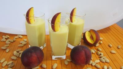 cocktail de lait d'amande