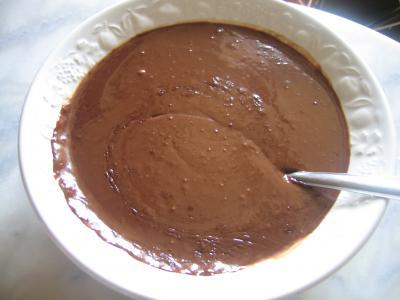 Crème mousseline au chocolat - 7.3